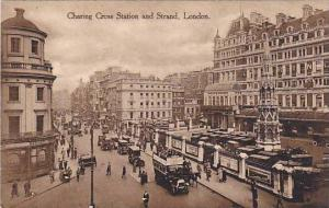 Charing Cross Station and Strand, London,00-10s