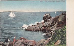 Sailing Boat, The Norseman, SALEM, Massachusetts, 1905