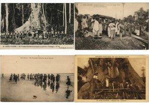IVORY COAST COTE D'IVOIRE AFRICA 50 CPA Pre-1940 (L3058)