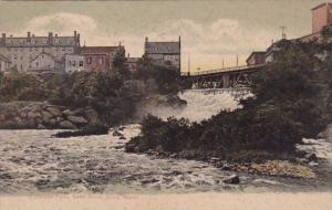 Maine Saco Cataract Falls Saco River 1913