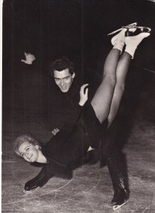 RP: Figure Skaters MARIKA KILIUSOVA & HANS-JURGEN BAUMLER (NSR) 1950-60s