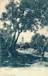 Morocco Tangier The Lighthouse from a garden 04.56