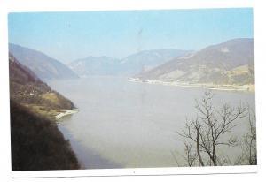 Serbia Lepenski Vir View Archaelogical Site Postcard 4X6