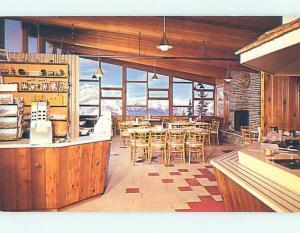 Unused Pre-1980 RESTAURANT SCENE Banff Alberta AB B8357
