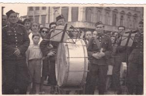 RP: Military band , drummer , 1930s