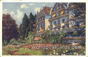 Lucerne Swizerland, Schweiz, Svizzera, Suisse Carlton Hotel Tivoli  Carlton H...