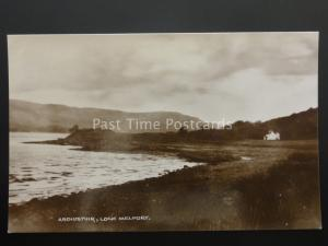 Argyll nr Oban ARDIUSTUIR - LOCH MELFORT - Old RP Postcard
