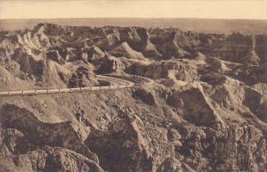 East Side Of Pinnacles Badlands Nat Monument South Dakota Albertype