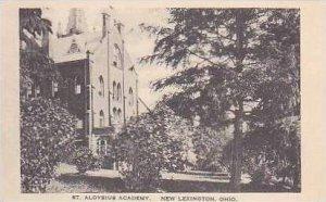 Ohio New Lexington St Aloysius Academy Albertype