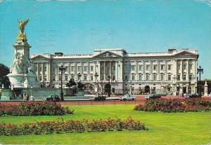 England London Buckingham Palace 1972