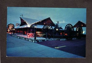 CA Clearman's North Woods Inn Motel San Gabriel California Postcard Calif
