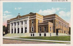 Missouri Joplin Memorial Hall 1945