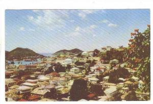 THE FAIRYLAND TOWN OF CHARLOTTE AMALIE, VIRGIN ISLANDS, 40-60´S
