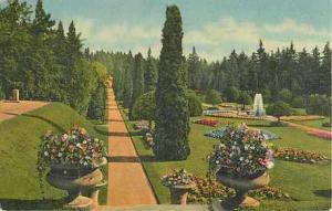 Linen of Sunken Gardens Manito Park Spokane Washington WA
