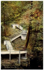 New York Watkins Glen ,  Stairway to Lovers Lane