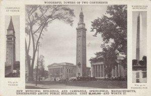 SPRINGFIELD , Massachusetts , 1913 ; New Municipal Building