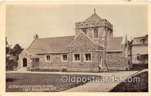 Churches Vintage Postcard Port Washington, NY, USA Vintage Postcard St Stephe...