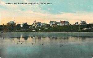 Sunset Lake, Elmwood Heights, Oak Bluffs Massachusetts MA