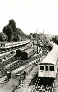 Trains - London Transport Tube Stock of 1938 & A Stock of 1960, Wembley Par...