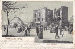 Burg Rudesheim, Düsseldorf 1902, Germany, PU-1902