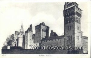 Cardiff Castle England, United Kingdon of Great Britain Postal Used Unknown