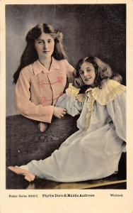 Edwardian Actress Phyllis Dare & Maidie Andrews Whitlock