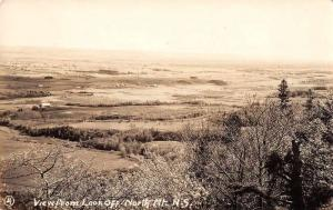 Lookoff Nova Scotia Canada North Mountain Real Photo Antique Postcard J48499