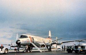 Continental Airlines ViscountAt Stapleton International Airport Denver
