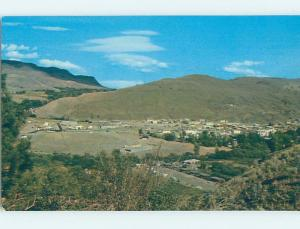 Pre-1980 PANORAMIC VIEW Cache Creek - Near Ashcroft & Kamloops BC F8637