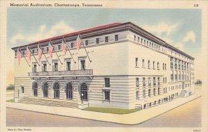 Tennessee Chattanooga Memorial Auditorium