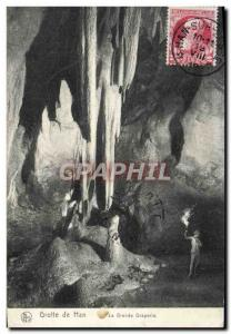 Old Postcard From Cave Han Great Drapery
