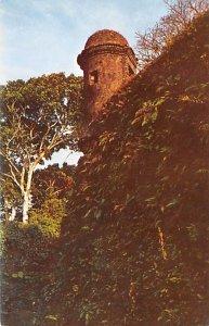 Ruins of Fort San Lorenzo Panama Unused