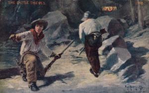 AS: F.W. Shultz, 1907; The Cattle Thiefs