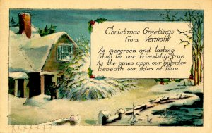 VT - Christmas Greetings from Vermont