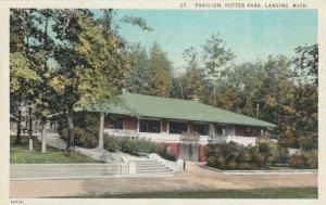LANSING , Michigan , 1900-10s ; Pavilion, Potter Park