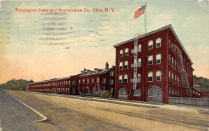 Guns Factories Gun Factory Post Card Remington Arms & Ammunition Co Ilion, Ne...