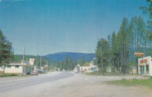 Main Street , BARRIERE , B.C. , Canada , PU-1974