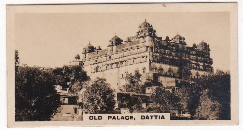 Cigarette Card Westminster : Indian Empire (Second Series) No. 03 Dattia