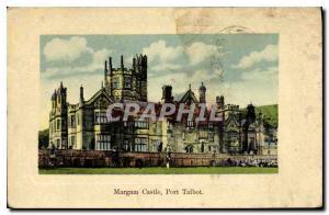 Postcard Old Castle Margam Port Talbot