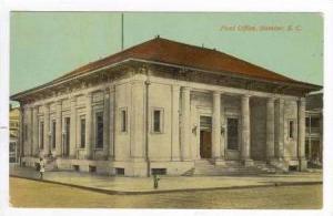 Post Office, Sumter, South Carolina, 1912