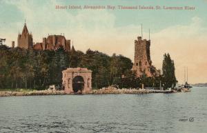 ALEXANDRIA BAY , New York , 00-10s; Heart Island, Thousand Islands