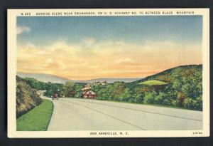 Asheville/Black Mounain,North Carolina/NC Postcard,Swannanoa