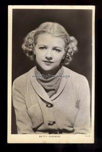 b1524 - Film Actress - Betty Furness - Picturegoer No.924 - postcard