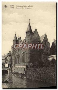 Postcard Old Ghent Geeraard de Duivelsteen