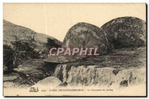 Old Postcard Foret De Fontainebleau The Cap From Jockey