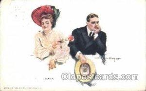 Artist Signed Howard Chandler Christy, Teasing 1908
