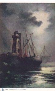 TUCK #1721; LYNMOUTH, Devon, England, United KIngdom;. The Lighthouse, Sailbo...