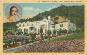 United States residence of Dorothy Lamour Beverly Hills California
