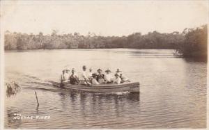 Cuba Party On Nuevas River Real Photo