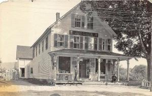 Perkinsville VT Post Office Town Clerk General Store RPPC Postcard